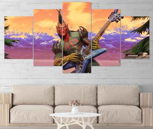 Fortnite-70-5-Piece-Canvas-Wall-Art